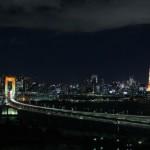 シーリアお台場三番街からの夜景