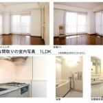 リバーシティ21新川の室内写真