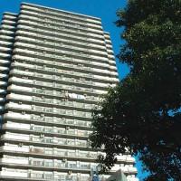 リバーピア吾妻橋ライフタワーの外観