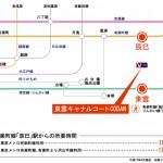 最寄り駅は、辰巳駅になります