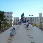高島平団地の敷地内の公園