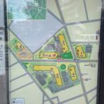 にしき平和台の敷地内地図
