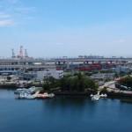 横浜港のすぐ近くです