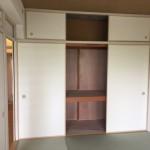 芝園団地の和室と収納スペース