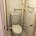 赤羽北二丁目団地のトイレ