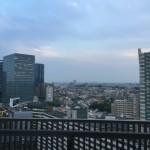 アートヴィレッジ大崎ビュータワーのベランダからの風景