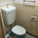 大島六丁目団地のトイレ