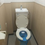大島四丁目団地のトイレ