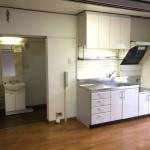 若松二丁目団地のキッチン