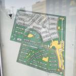 若松二丁目団地の敷地内地図
