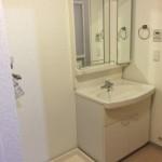 コンフォール松原の洗面所