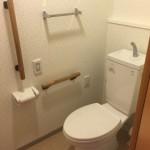 コンフォール松原のトイレ