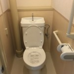 豊島五丁目団地のトイレ