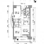アーバンラフレ戸田の間取り図
