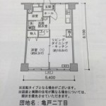 亀戸二丁目団地_間取り図