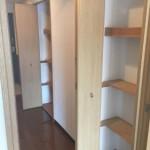 板橋ビュータワーの廊下にある収納スペース