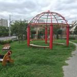 アーバンラフレ戸田の敷地内にある公園