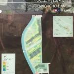 天王町団地の敷地内地図