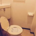 磯子三丁目団地のトイレ