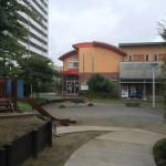 ヴェルディール市川南の敷地内にある公園