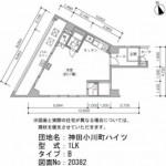 神田小川町ハイツの間取り図