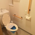 ヴェルディール市川南のトイレ
