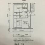 行田団地の間取り図