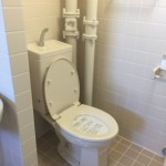 高島平団地のトイレ