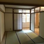 戸塚三丁目団地の和室1