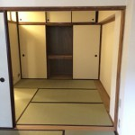 戸塚三丁目団地の和室2