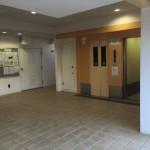 行田団地のエレベーターホール