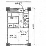 小島町二丁目団地の間取り図