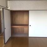 小島町二丁目団地の洋室、収納