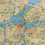 リバーシティ21新川の周辺地図