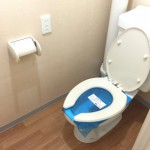 東大島駅前ハイツのトイレ