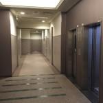 リバーシティ21新川のエレベーターホール