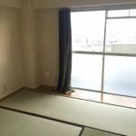下篠崎町団地の和室1