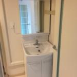 西新小岩リバーハイツの洗面台
