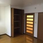 竹の塚第二団地の収納スペース