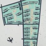 竹の塚第二団地の敷地内地図