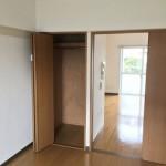 竹の塚第二団地の洋室