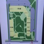 西新小岩リバーハイツの敷地内の地図