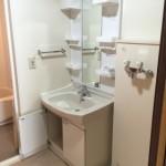 武蔵野緑町パークタウンの洗面台