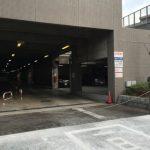 駐車場の入り口です
